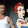 Florian Silbereisen hat ein sehr großes Tattoo von Helene Fischer