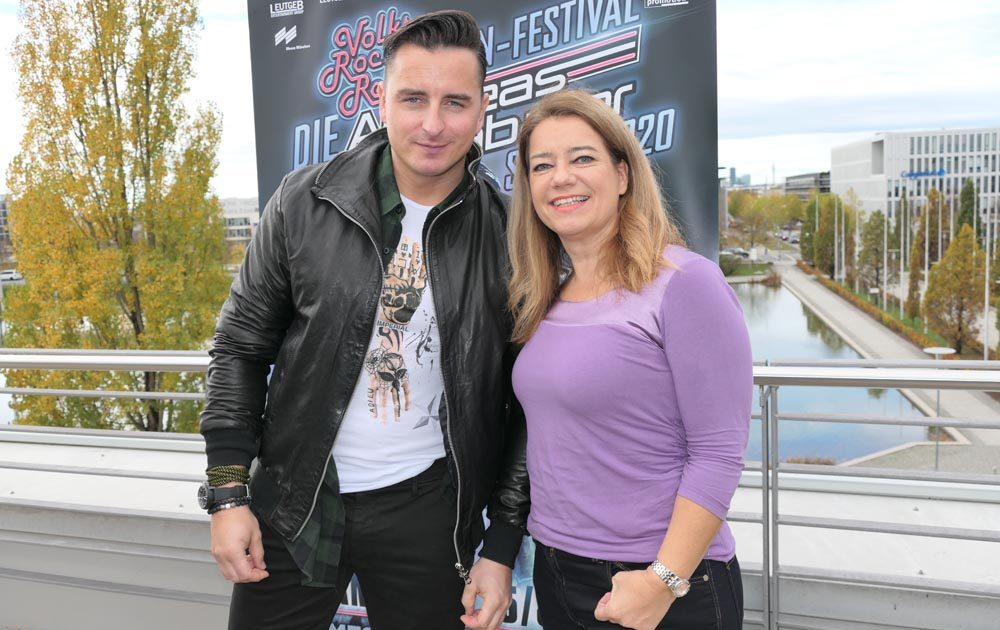 Martina Mack trifft Andreas Gabalier