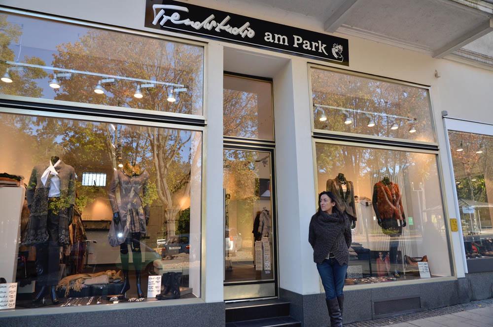 Marinas Boutique Außenansicht