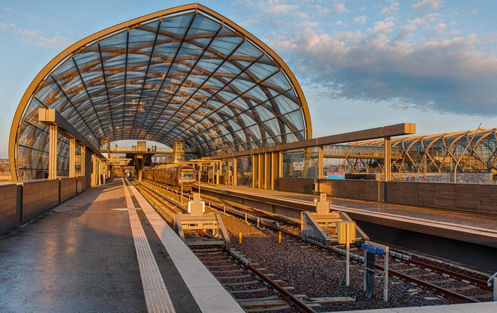 U4-Endstation Elbbrücken