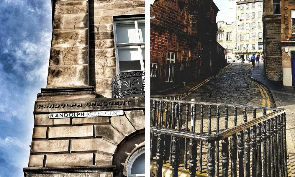 Sandstein-Edinburgh