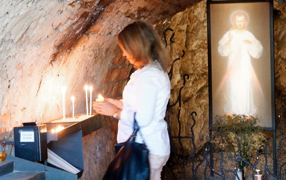 Kloster-Heiligenkreuz-Kerze