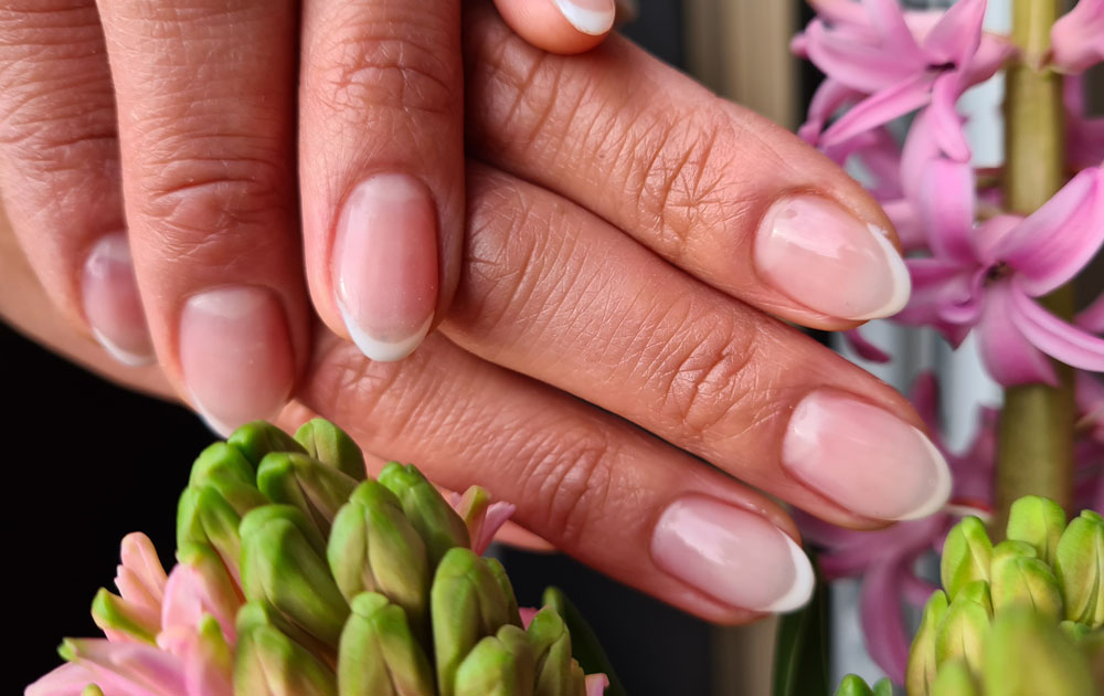 Skinny French Nails