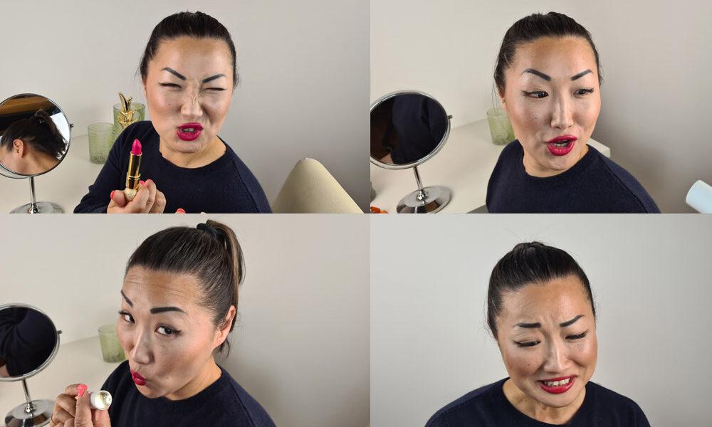 Lippenstift-Momente