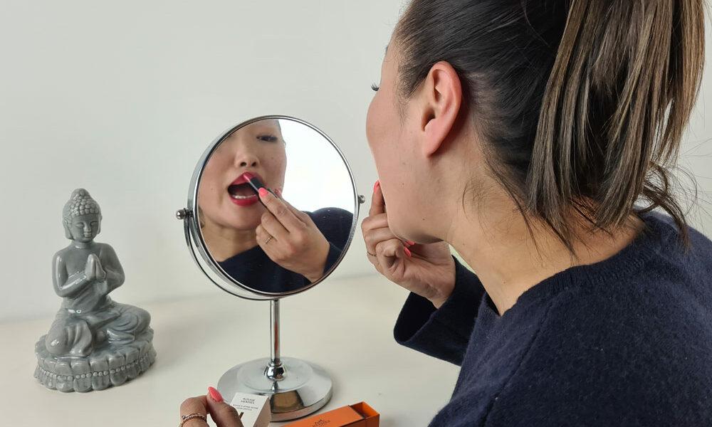 Lippenstift-Spiegel