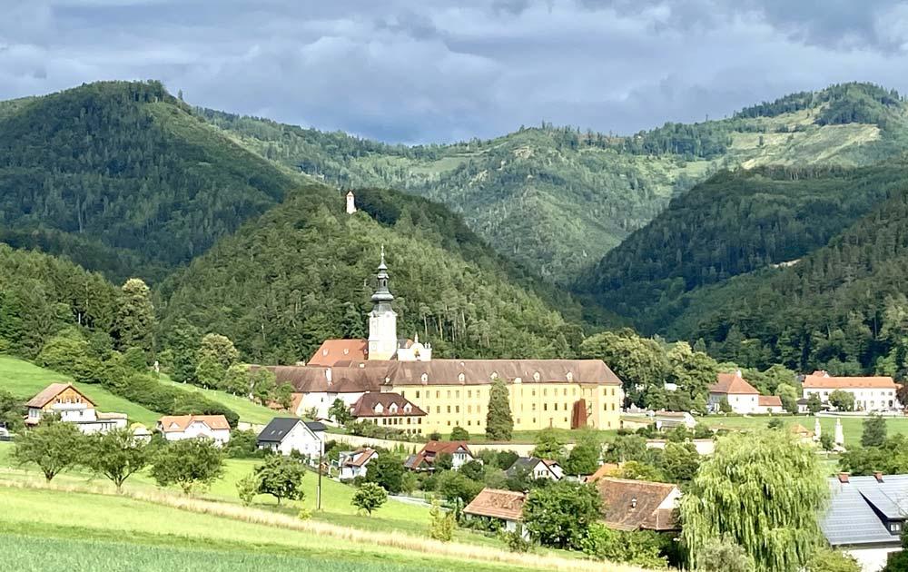 Dorf-mit-wald