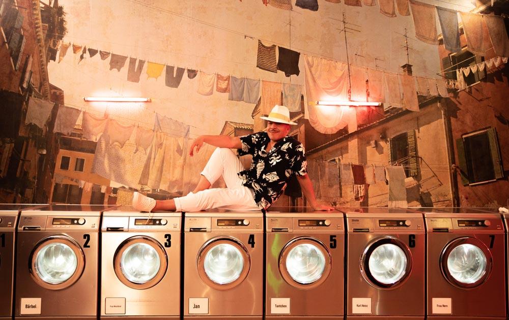 Lou-Bega-Waschmaschine